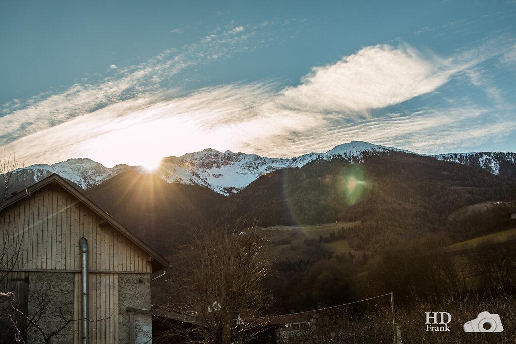 Landschaftsfotos Prad Italien
